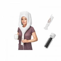 Phon, pastre, rasoi e manicure: Cuffia asciugacapelli 3in1 hth 3003