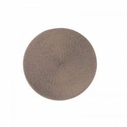 Tovaglie e tovagliette: Round tovaglietta tonda 36 cm grigio