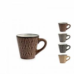 Tazze e teiere: Ethnic tazza caffe' stoneware cc100