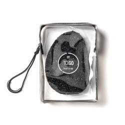 Spugna accessorio personale xpand charcoal - linea to go