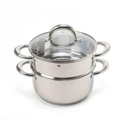 Cottura al vapore: Special kitchen vaporiera con coperchio 20 cm
