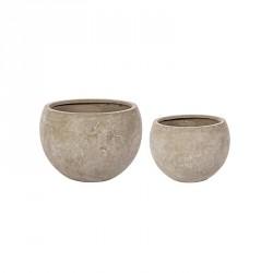 Vasi: Vaso cement sfera sabbia s