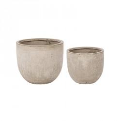 Vasi: Vaso cement to basso sabbia l