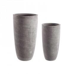 Vasi: Vaso cement to alto grigio s
