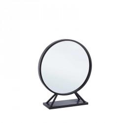 Specchio colore nero h50 - serie marilyn stand