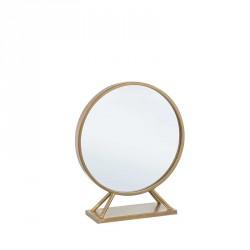 Specchio colore oro h50 - serie marilyn stand
