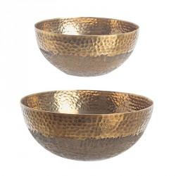 Ciotola decorativo - size l - serie oro - linea hammel