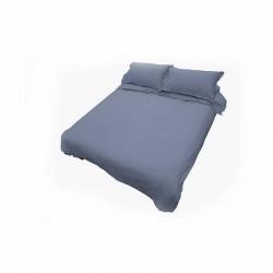 Biancheria da letto: Beatriz 2 set letto matrimoniale 100% cotone jeans