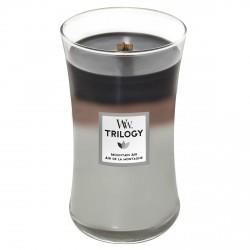 Candela con fragranza profumata: mountain air - serie jar - grande formato