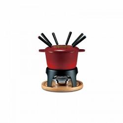 Fondute: Set fonduta sierra 11 pz rosso