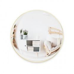 Complementi a muro: Convexa specchio 58 brass