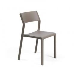 Panche e sedie: Trill bistrot sedia tortora