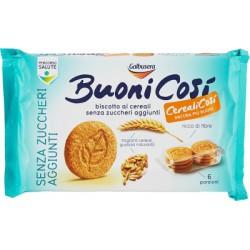 Galbusera BuoniCosì biscotto ai cereali senza zuccheri 300 g