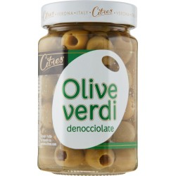 Citres olive verdi snocciolate - gr.285