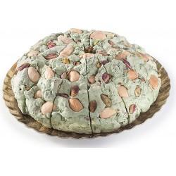 Rivoltini vassoio torrone tenero e pistacchi kg.2,2