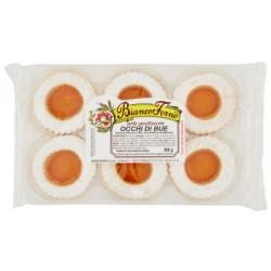 BiancoForno occhi di bue con confettura di albicocca gr.300