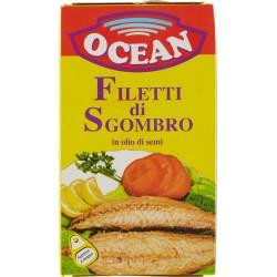 Ocean Filetti di sgombro in olio di semi 125 gr.