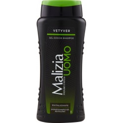 Malizia Uomo Vetyver Gel Doccia Shampoo 250 mL