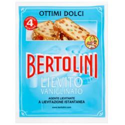 Bertolini lievito vanigliato - gr.64 x4