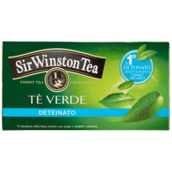 Sir Winston tè verde deteinato 20 bustine 35 g