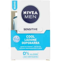 Nivea for men lozione sensitive - ml.100