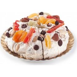 Rivoltini torta torrone tenero e frutta kg.4