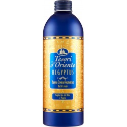 Tesori d'Oriente Aegyptus Bagno Crema Aromatico Giglio blu del Nilo e Papiro 500 ml.