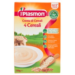 Plasmon crema ai 4 cereali - gr.200