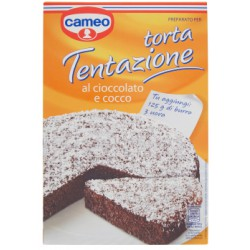 Cameo torta tentazione al cioccolato e cocco - gr.385