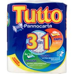Tutto Pannocarta 3in1 Carta-Panno-Spugna pz.2