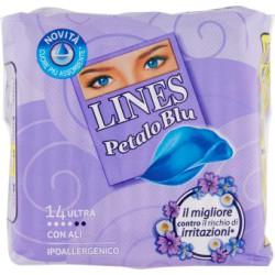 Lines idea petalo blu con ali pz.14