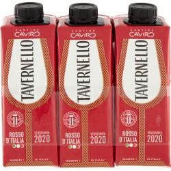 Tavernello vino rosso cl.25 x3