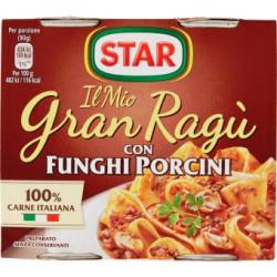 Star gran ragu star con funghi porcini - gr.180 2pezzi