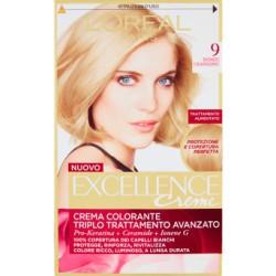 L'Oréal Paris Excellence crema colorante 9 biondo chiarissimo