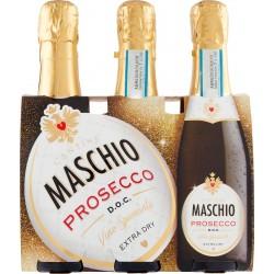 Cantine Maschio Prosecco D.O.C. Vino Spumante Extra Dry 3 x 20 cl.