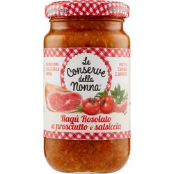 Le conserve della Nonna rosolati sugo prosciutto e salsiccia gr.190