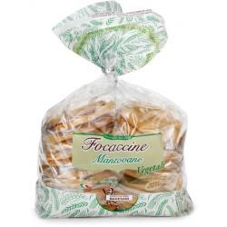 Madesani focaccine vegetali - gr.400