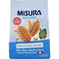 Misura biscotti ai cereali senza zucchero - gr.300