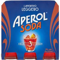 Aperol soda cl.125 cluster x6