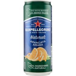San Pellegrino aranciata amara sleek cl.33