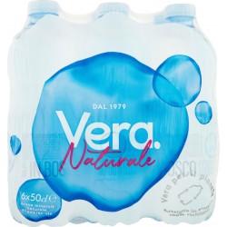 Vera acqua naturale - ml.500 cluster x6