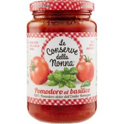 Le conserve della Nonna sugo pomodoro e basilico - gr.350
