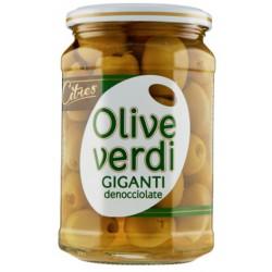 Citres olive verdi giganti snocciolate - gr.540