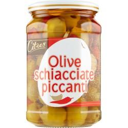 Citres olive schiacciate piccanti - gr.580