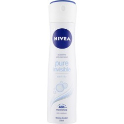 Nivea deodorante pure invisible - ml.150