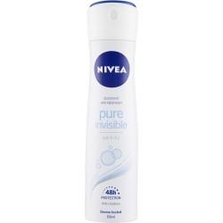 Nivea deodorante pure invisible - ml.150
