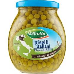 Valfrutta piselli italiani Piccolissimi vaso 360 gr.