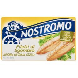 Nostromo filetti sgombro - gr.120