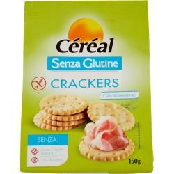 Céréal crackers Senza Glutine con Rosmarino gr.150