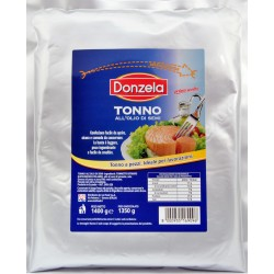 Donzela tonno busta in olio semi kg.1,4